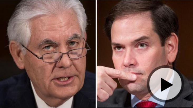 VIDEO: Florida GOP Senator Marco Rubio Will Confirm Rex Tillerson