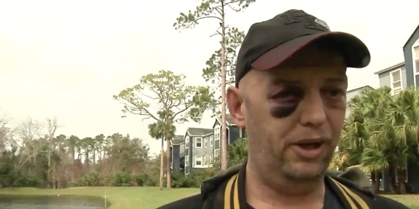 Disabled Veteran Beaten for Defending a Turtle?