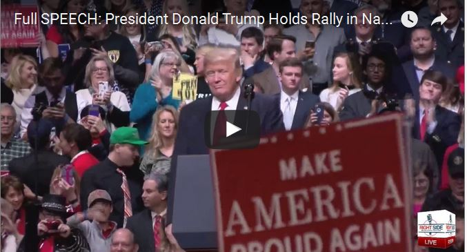 VIDEOS: TRUMP LIVE FROM NASHVILLE