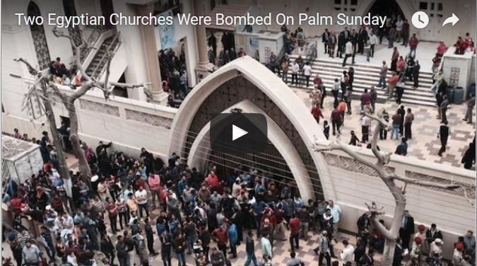 "ISIS SAYS ""CHRISTIANS ARE OUR FAVORITE PREY"" – Churches Blasted on Palm Sunday"