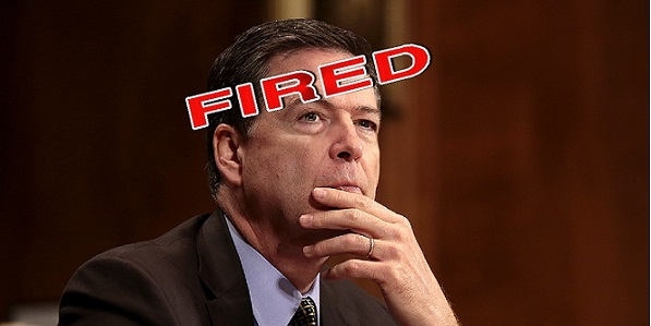 Draining the Swamp: Comey Has Been FIRED