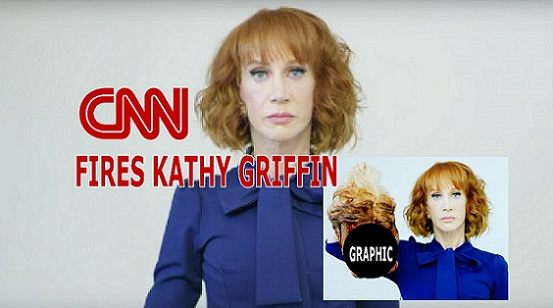 CNN Fires Kathy Griffin Over Disgusting Trump Photo