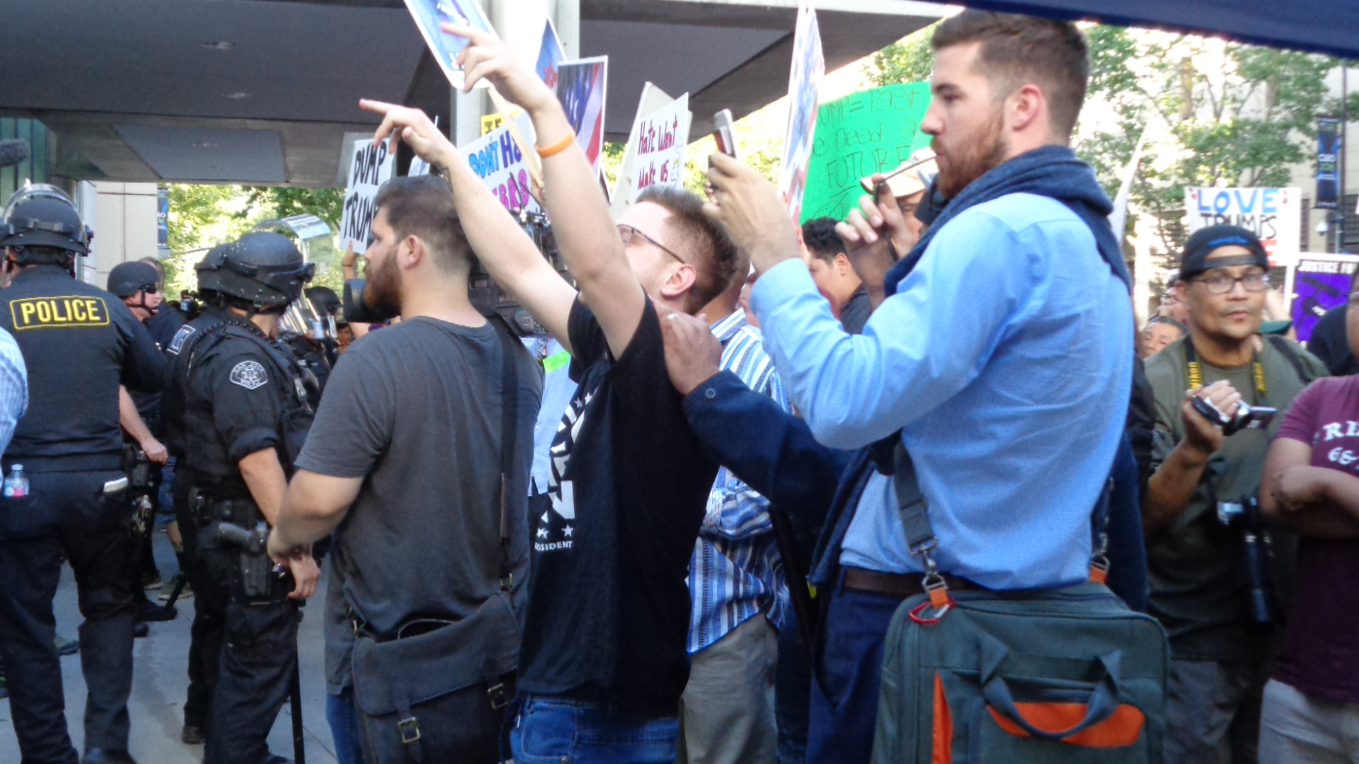 Why Do People Need Actors and Photographers for a Protest?