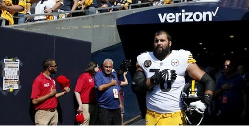 One Good Man Stands for the Steelers