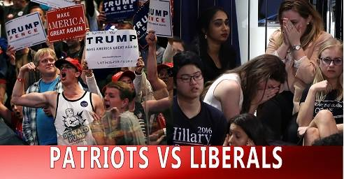 A Humorous and Truthful Look at Patriots VS Liberals  Part 1