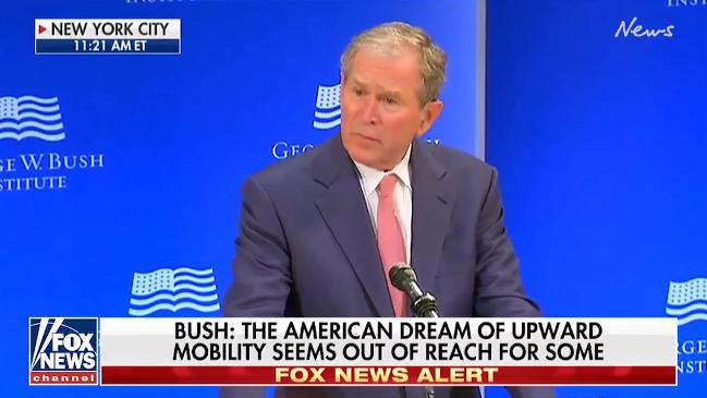 Globalist Bush Comes Out to Criticize Trump after being Quiet on Obama