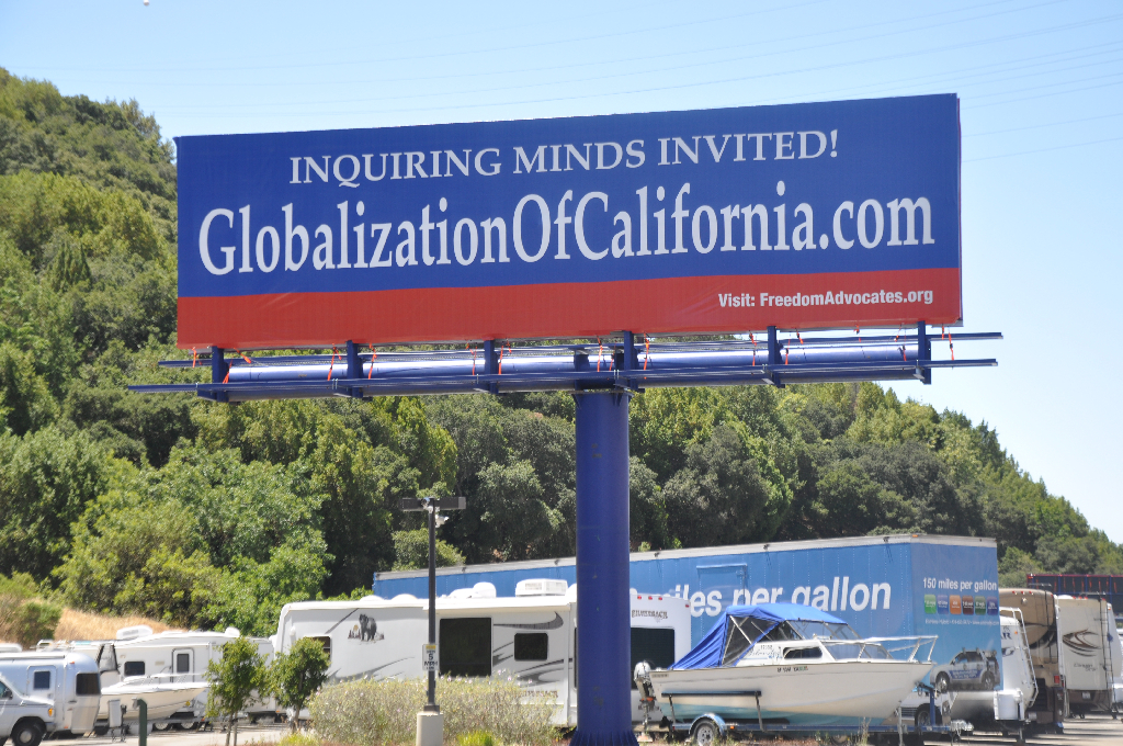California is Being 'Held Hostage' by Globalist Elites