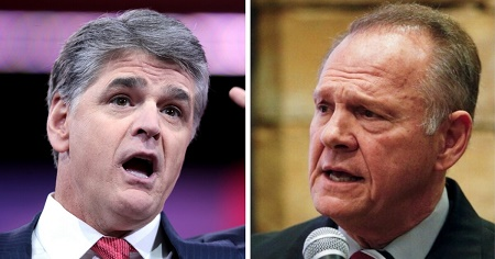 Has Sean Hannity Turned to the Left Concerning Roy Moore?