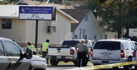 Sutherland Springs: Americans with Heavy Hearts this Morning