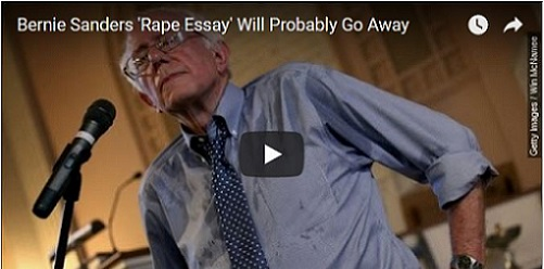 Have You Heard Bernie Sanders' Essay on Sexual Fantasies?