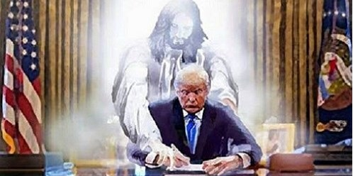 Thank You for Bringing our Father God Back into our White House
