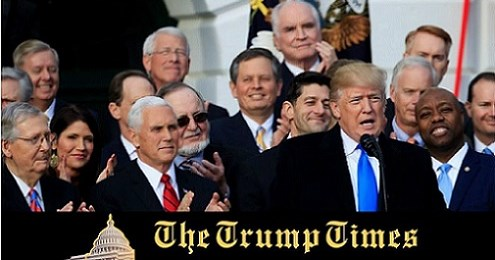 Tax Reform Bill Passes, But GOP Remains a Snake in the Grass of the White House Lawn and America