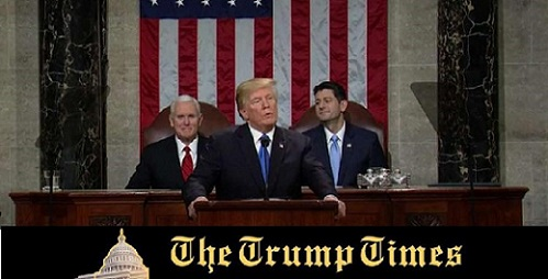 The State of the Union Address that Will go Down in History