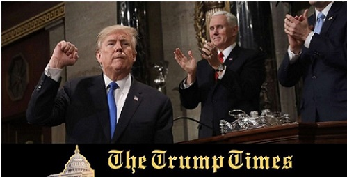 The 5 Key Facts Our President Announced On SOTU That Made The Media Lose Their Minds