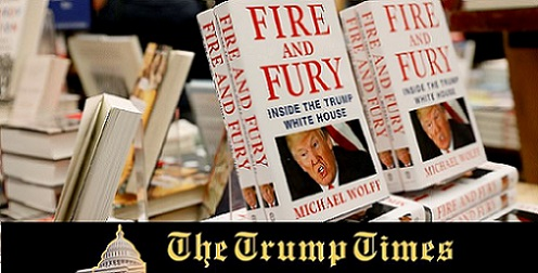 Twitter is Afire with Trump Statements over the Newly Released Book