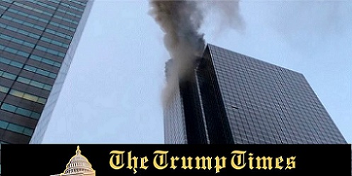 Fire Breaks Out in Trump Tower