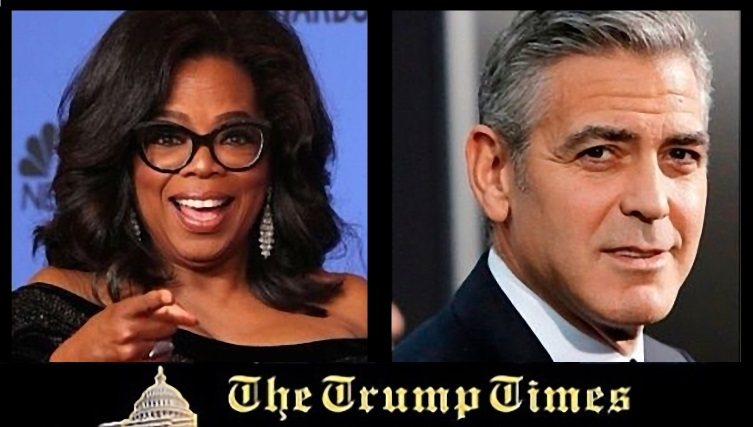 George Clooney and Oprah Winfrey Want to Abolish the Second Amendment