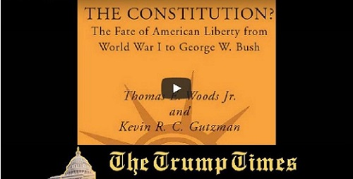WHO MURDERED OUR CONSTITUTION?