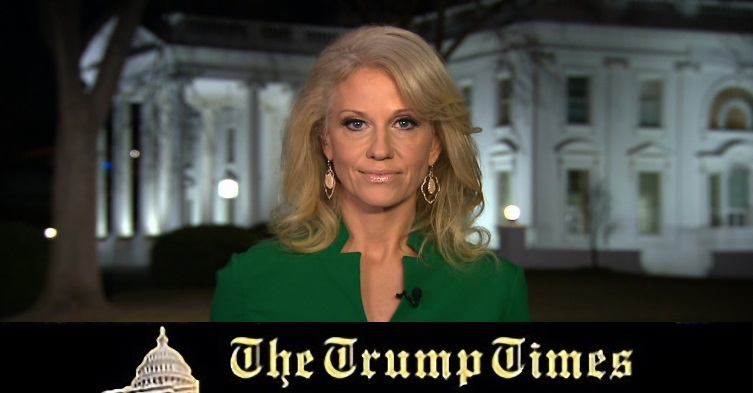 Breaking: Kellyanne Conway Up for Huge New White House Position