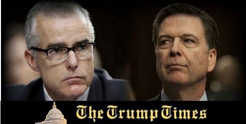 BOOM: McCabe's Fake Memos/Notes Given to Mueller's Team