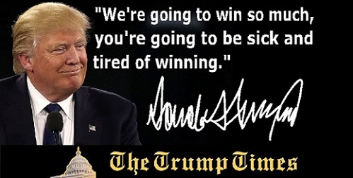 Are You Tired of All the Winning?