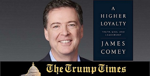 Comey's Book Set to Spread Filth