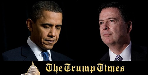 Comey Accuses Obama of Jeopardizing DOJ on Clinton Case