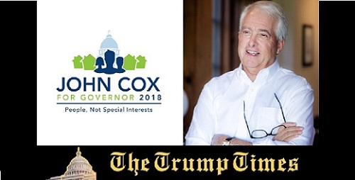 Opinion: Trump Endorsed John Cox for California Governor