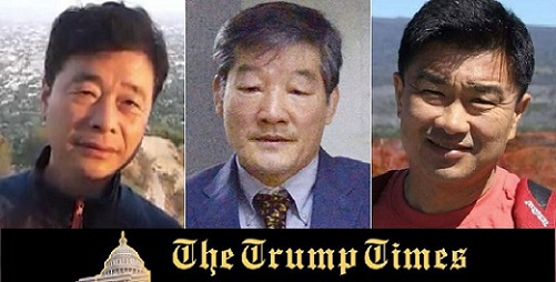 BREAKING NEWS: Three Americans Held in North Korea on their Way Home
