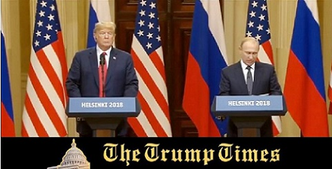 Trump and Putin at Joint Summit in Helsinki, Finland