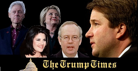 Clinton Scandals Peak as Kavanaugh Confirmation Closes In