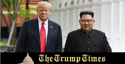 Trump Gets a Letter from Kim