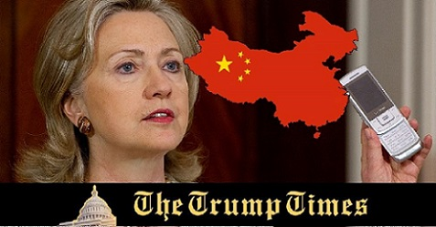 BOOM: Hillary's Emails Routed to Chinese Operatives