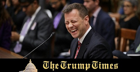 Strzok Fired: Who's Laughing Now?