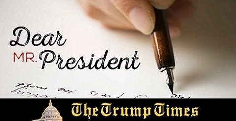 AN URGENT LETTER TO THE PRESIDENT