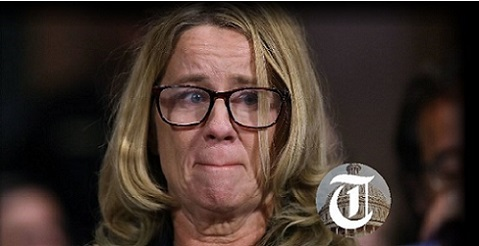 BOMBSHELL: Christine Blasey Ford Ex-Boyfriend Contradicts Polygraph Claim