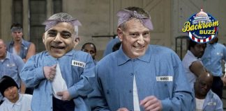 Mini Me London Mayor Sadiq Khan and New York City Mayor Bill deBlasio-min