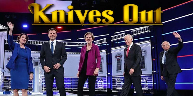 Democratic Debate Knives Out