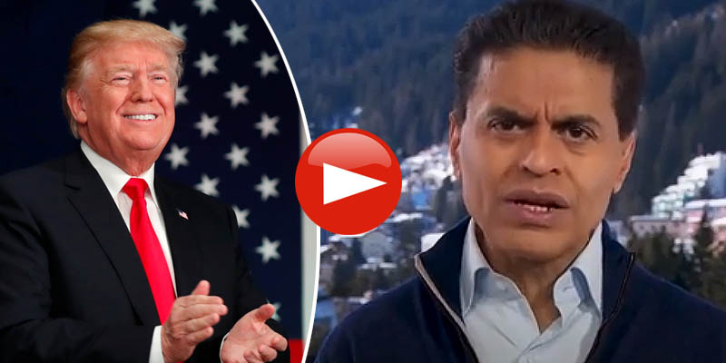 Fareed Zakaria and President Trump