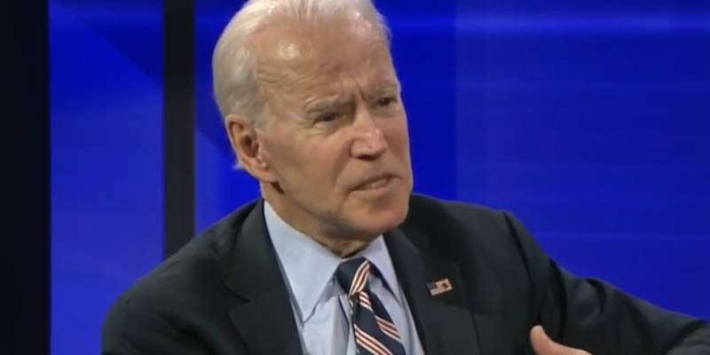 Joe Biden gets upset about Ukraine quid pro quo video