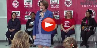 Amy Klobuchar Tries to Convince Nevada Immigrants She's Hispanic