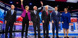 Democratic Debate Democrats Nevada
