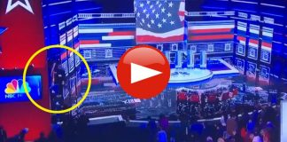 Democrats Removing American Flag from the Nevada Democratic Debate Stage