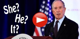 Mike Bloomberg calls transgenders she he or it
