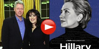 Bill Clinton, Monica Lewinsky, Hulu Hillary Documentary