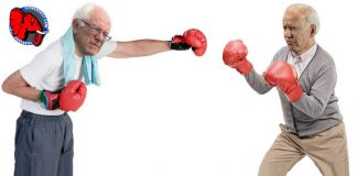 Democrat Joe Biden and Socialist Bernie Sanders duke it out