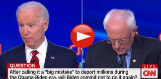 Joe Biden No Deportations of illegal aliens