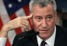NYC Moronic Mayor Bill de Blasio