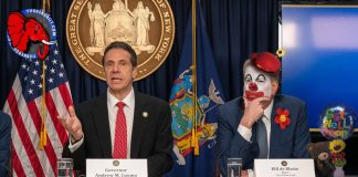 New York Gov Andrew Cuomo and NYC Mayor Bill de Blasio