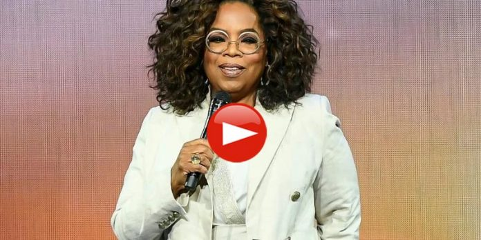 Oprah Face Plants In LA